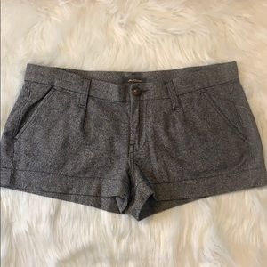7 For all Mankind wool/silk blend shorts